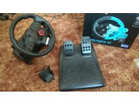Logitech Driving Force GT steering wheel PS3 / PC
