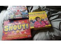 brand new unopend board games