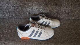 ADIDAS NEO boys shoes size 2