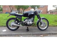 Classic BMW R90/6 cafe racer