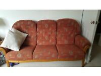 cintique 2 seater & 3 seater sofas