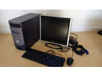 Computer for Parts with fully functioning Monitor, keyboard and mouse