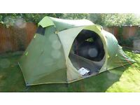 Decathlon 4 person Family Tent - Little used.
