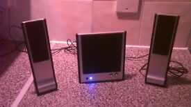 Small computer/mp3 speaker system