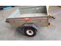4x3 Galvanized car trailer