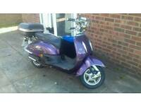 Tamoretti Retro 125 Purple Scooter