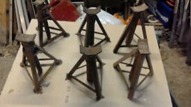Axle stands 3 pairs of axle stands good condition 3