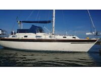 WESTERLY SEAHAWK 34 SAILING CRUISER 7 BERTHS, LOVELY CONDITION £35950