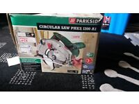 Parkside 1300W Circular saw for sale