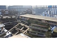 Damaged wooden pallets / firewood (Approx 40) **FREE OF CHARGE**