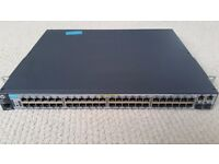 HP 2620-48(52)-PoE+ managed Switch