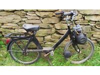 Vintage Retro French Velosolex Solex 3800 Model Moped Mobylette 49cc Vtg
