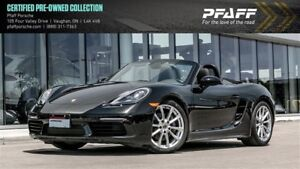 2017 Porsche 718 Boxster PDK - 5.75% LEASE RATE!