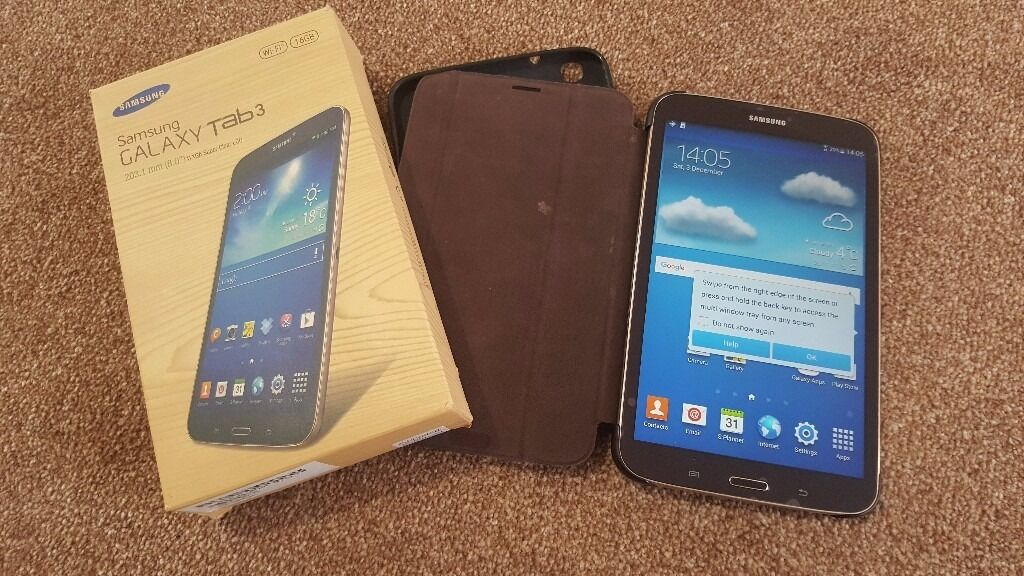 Samsung Galaxy Tab 3 SM T310 Gold BrownSamsung caseSandisk ultra 64GBONOin Leicester, LeicestershireGumtree - Samsung Galaxy Tab 3 SM T310 Gold Brown Samsung case Sandisk ultra 64GB Fully working as seen in the picture. The item will come with Box, Samsung Galaxy Tab 3 SM T310, Sandisk ultra 64GB micro sd & Samsung case. £90.00