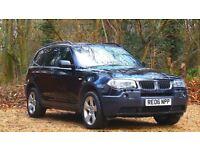 BMW X3 3.0 d Sport 5dr EXCELLENT CONDITION 2006 (06 reg), SUV 67,000 miles Automatic 2993cc Diesel