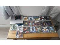 PS3 SLIM SILVER LIMITED EDITION 320GB 18 GAMES