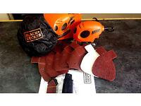 Black&Decker Mouse Sander/Polisher used only once!