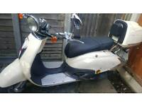 Retro style twist and go 50cc direct bikes scooter moped