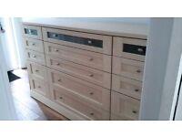 15 drawer SCHREIBER unit ,BIRCH.IMMACULATE