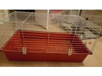 Pets at home large indoor rabbit/guineapig cage hutch