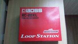 Boss RC-20XL Phrase Recording Loop Station