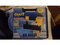 POWER CRAFT AIR NAILER - XY- F50- NAIL GUN- NEW IN CASE