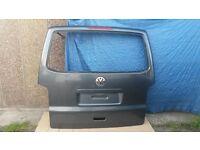 vw t5 t5.1 transporter caravelle multivan tailgate grey rust free good condition genuine p&p ava