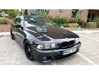 2002 02 BMW E39 540i 4.4 V8 M Sport Auto Sheppire Black