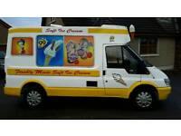 2004 Ford transit ice cream van