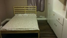 Beautiful large lovely fully furnished good size double room