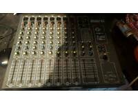 Studiomaster 8:2 diamond club PA Mixer