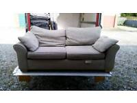 3 and 2 seater Next sofa