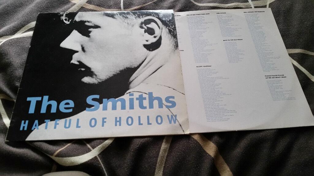 the Smiths hatful of sorrow vintage original vinyl lp record