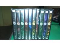 x-files complete dvd boxset inc.movie collectors booklet (55 disk set)