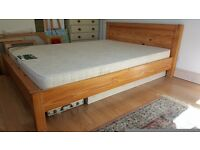 King Size Pine Double Bed
