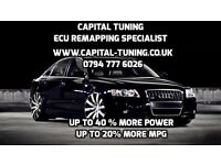AUDI ECU TUNING REMAP ALL MODELS DIESEL AND PETROL ENGINES A1 A2 A3 A4 A5 A6 A7 A8 Q3 A5 Q7 S3 TT S5