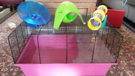 Hamster accessories plus free cage! £10 ono