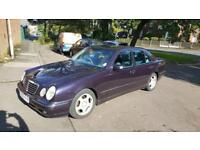 2001 MERCEDES BENZ E220 DIESEL AUTO LOW MILEAGE ONE PREVIOUS OWNER FULL HISTORY FOR SALE