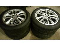 """Audi 20"""" alloy wheels with 275/45 R20 General Graber UHP tyres"""