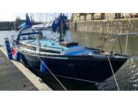 36 Ft Sailing Yacht / Live aboard boat ready to sail