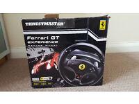 thrustmaster steering wheel PC 10 £