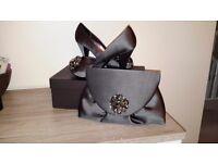 Phase 8 shoes and matching handbag
