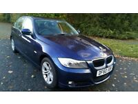 BMW 318 SE 2.0 SALOON 60 REG IN MIAMI BLUE AND BLACK TRIM, 1 OWNER FROM NEW AND FULL SERVICE HISTORY