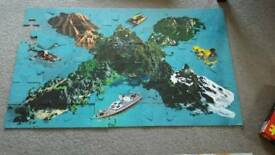 Action man island X 50 piece jigsaw puzzle
