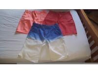 3 pairs of boys shorts