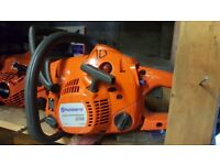 All types of timber claim your free chainsaw