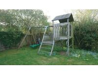 Tp swing frame and tower