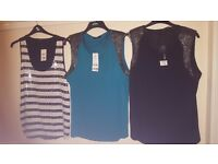 3 Brand New with Tags Dressy sparkly Tops size 22 £15 for Lot