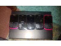 5 blackberry's