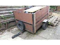 Small Car trailer 5 x 3